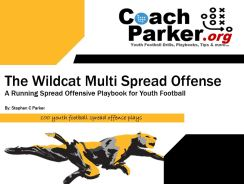 wildcat sw spread formation ebook by coach parker