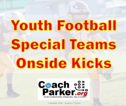 youth football kickoff special teams