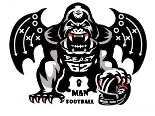 8 Man Beast Offense
