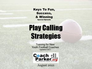 calling plays youth football