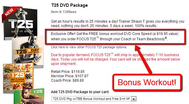T25 Bonus Workout