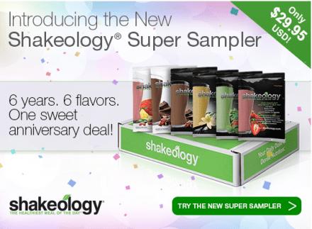 Shakeology Sample Pack