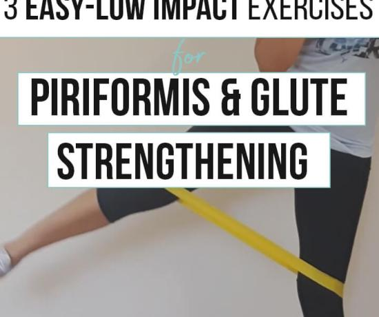 loop band exercises for piriformis and glute strengthening