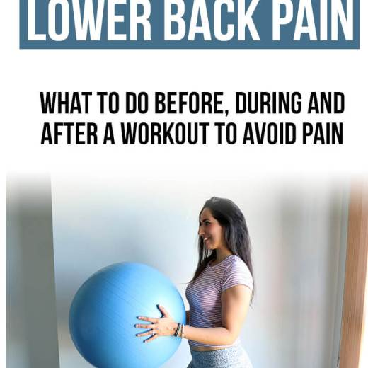 exercises lower back pain, how to exercise with lower back pain