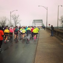 Mile 2 - Over the river and into the wind
