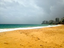 Lunchtime rain storm