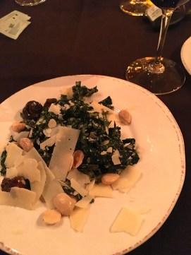 Kale Salad with Mushrooms