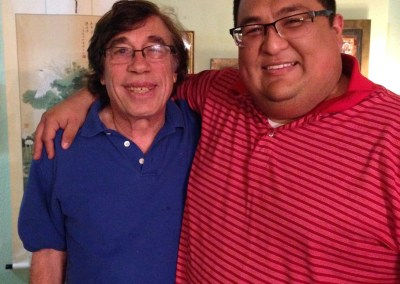 Friend and client, Ruben Canto, an international entrepreneur.