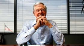 Charles Koch blasts Barack Obama