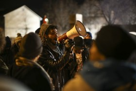 Gunfire erupts at the site of Black Lives Matter protest; 5 are injured