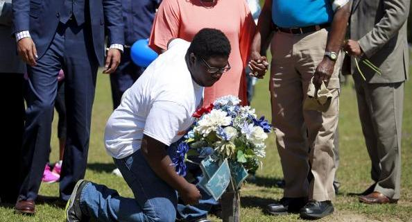 Tension endures a year after black man shot by South Carolina officer