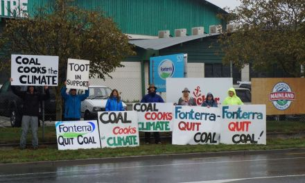 Fonterra puts coal on spin cycle