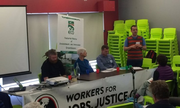 ECO Conference shows unions and environmental groups are natural allies