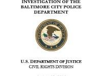 Report: INVESTIGATION OF THE BALTIMORE CITY POLICE DEPARTMENT