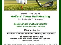 Golfers Town Hall - April 10, 2017