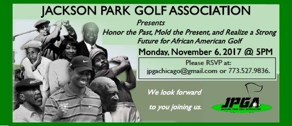 JPGA Golfers Symposium - Nov 6, 2017 5:00pm - South Shore Cultural Center
