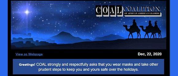 COAL Family - Happy Holidays