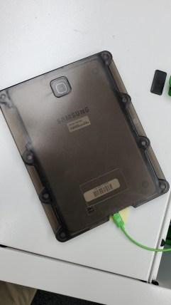 Tablet back