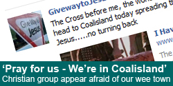 Christian group: 'Please pray for us – we're heading to Coalisland'