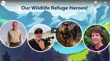 2020 refuge awards for refuge manager, refuge employee, refuge volunteer and Friends group