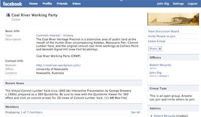 Coal River Facebook Group