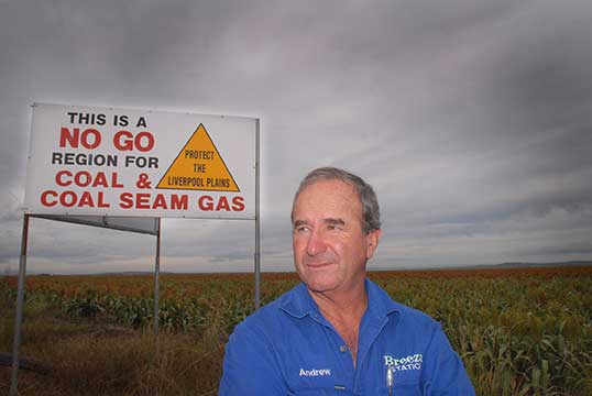 Andrew Pursehouse No Mines Billboard