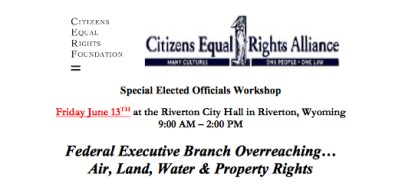 CERA Elected Officials Workshop