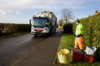 Council and customers seeing eye to eye on waste and recycling