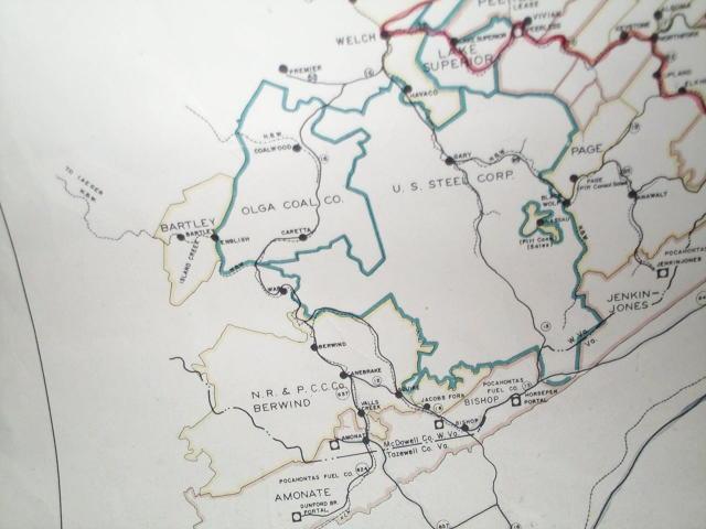 Coalwood West Virginia Map.Coal Wood West Virginia Blacksburg Va Map