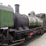 Welsh Highland Railway (NG/G16 No.143 Loco) in Porthmadog