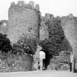 Conwy Castle in 1935