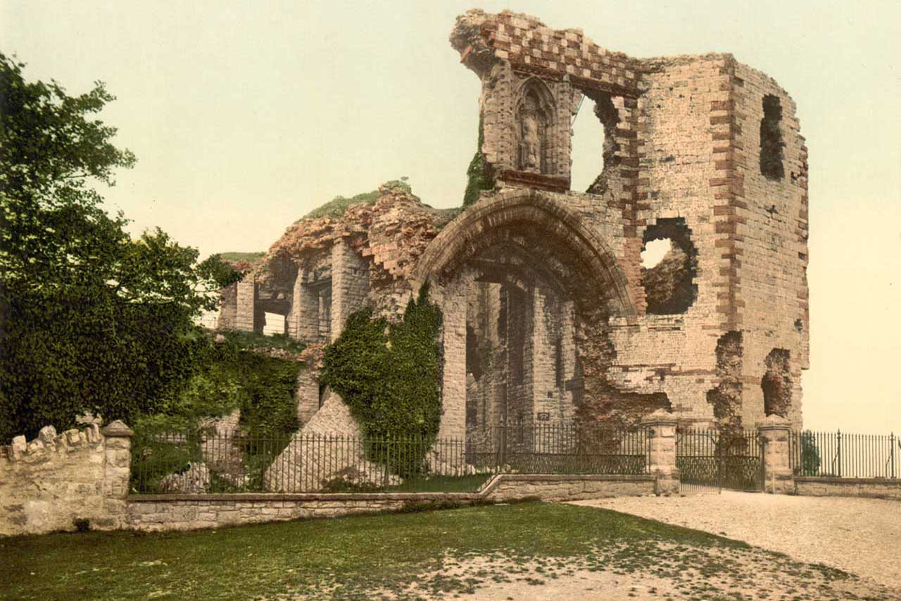 Denbigh Castle (Photochrom)