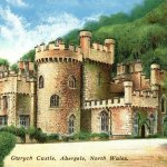 Postcard of Gwrych Castle