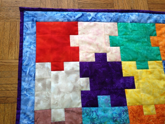 Puzzle Themed Baby Quilt Coast To Coast Crafts