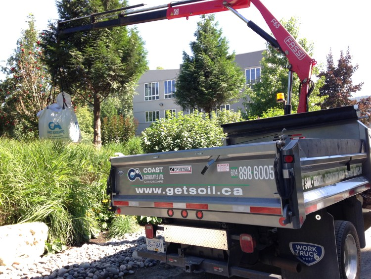 No fuss, no muss … top soil delivery