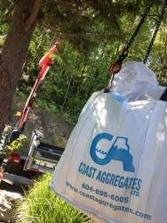 top soil delivery, garden soil delivery, squamish, big bag delivery