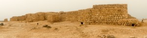 Samhuram Archaeological Site - exterior wall