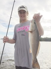 Fish Face Charters - Allie P. 11 YO from IL
