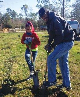 Galveston Bay Foundation volunteers