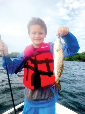 Fish Face Charters - Venny T. 11YO from IL
