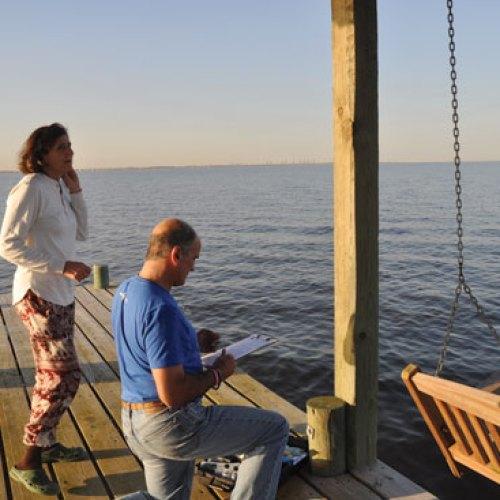 Galveston Bay water report