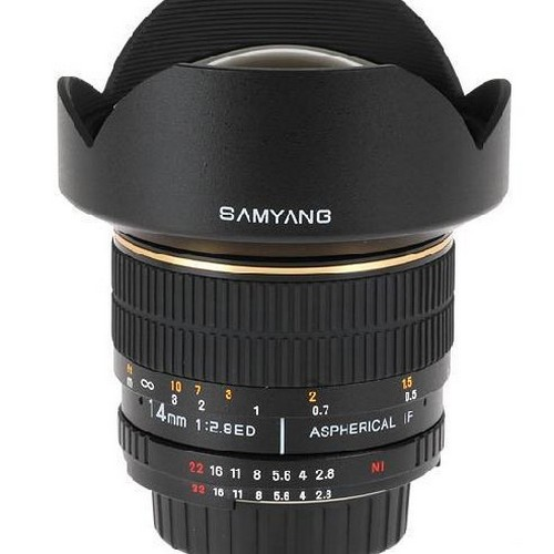 Samyang MF 14/2.8 ED AS IF UMC for Sony A