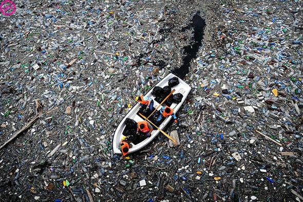 Plastic Trash Island