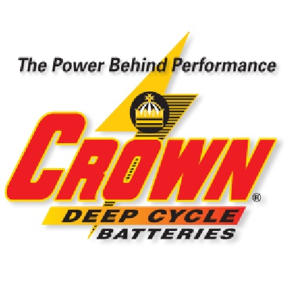 CR-165 Crown 8 Volt Battery