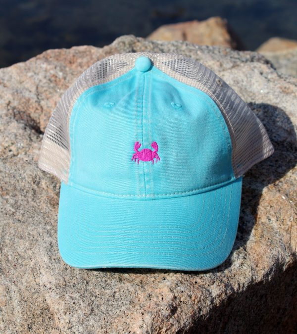 Turquoise with Pink Embroidery