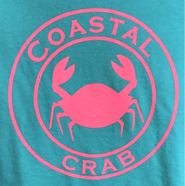 Youth T-Shirt Turquoise with Pink Imprint