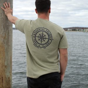 Adult T-Shirt Niantic Compass
