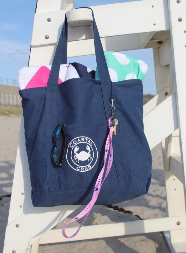 Navy Canvas Bag