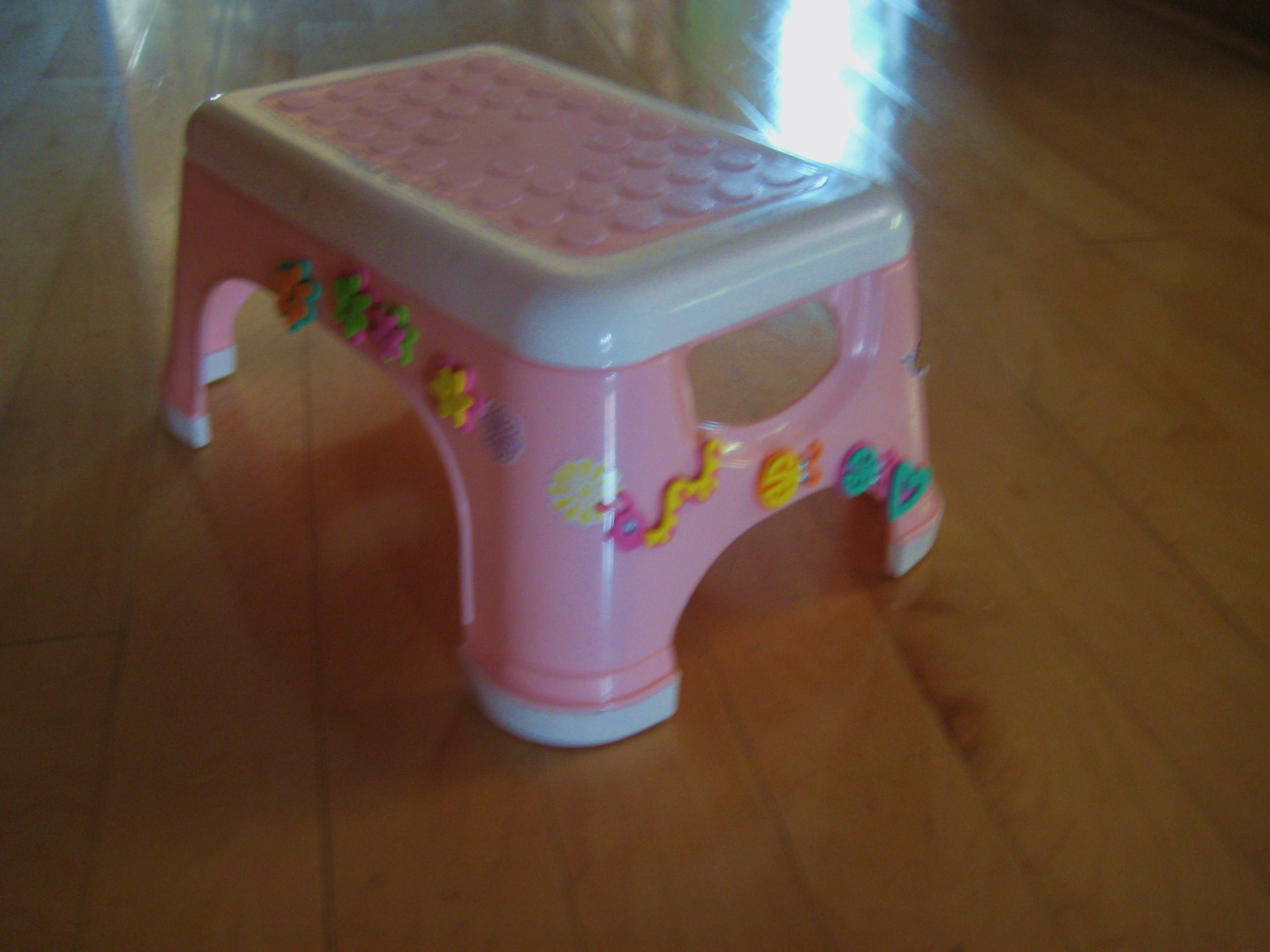 The Famous Decorated Stool!