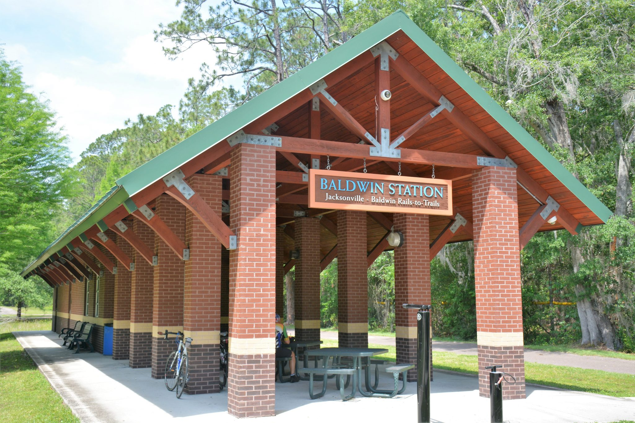 Baldwin Station, Jacksonville-Baldwin Rail Trail